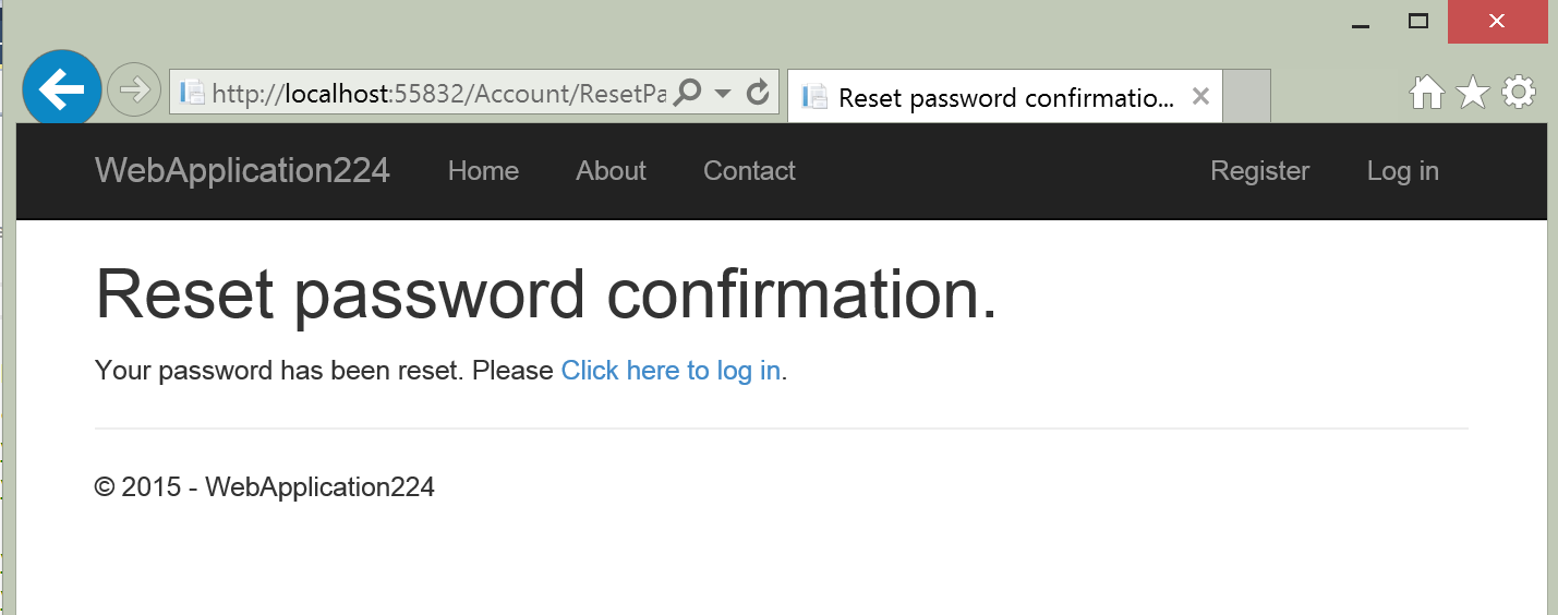 Account Confirmation And Password Recovery With Aspnet Identity