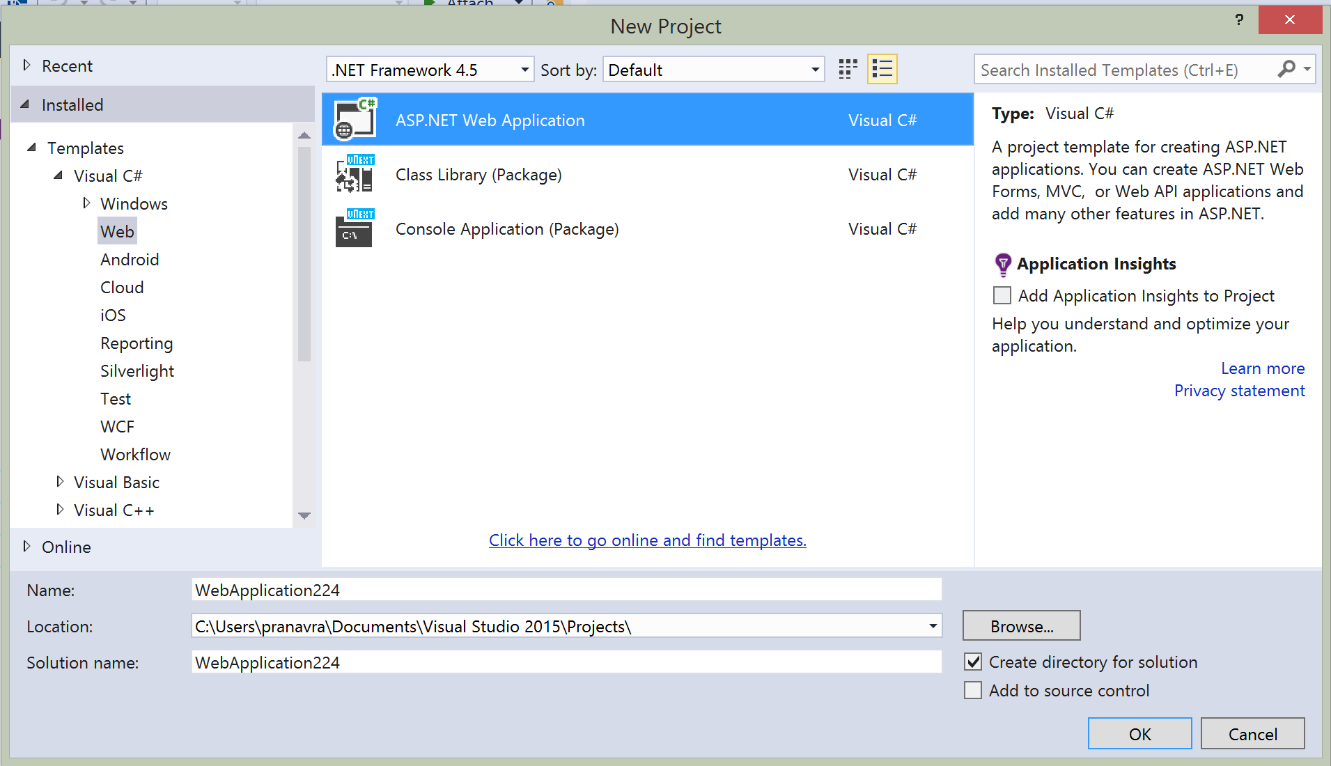how to build c project in visual studio